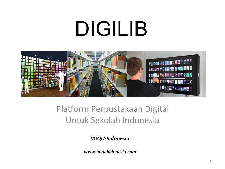 Platform Perpustakaan Digital Untuk Sekolah Indonesia
