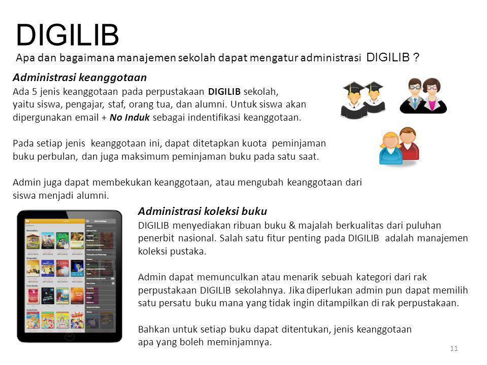 DIGILIB Apa dan bagaimana manajemen sekolah dapat mengatur administrasi DIGILIB Administrasi keanggotaan.