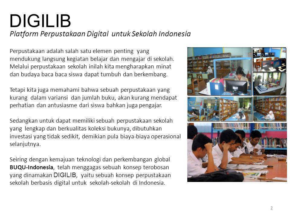 DIGILIB Platform Perpustakaan Digital untuk Sekolah Indonesia