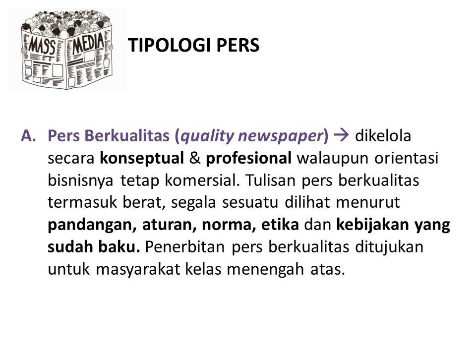 TIPOLOGI PERS