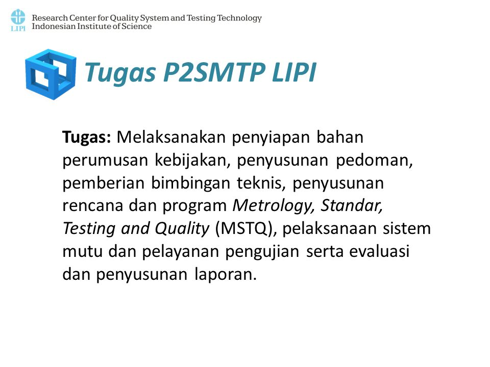 Tugas P2SMTP LIPI