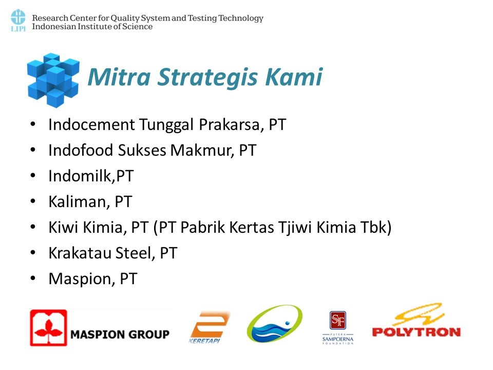 Mitra Strategis Kami Indocement Tunggal Prakarsa, PT