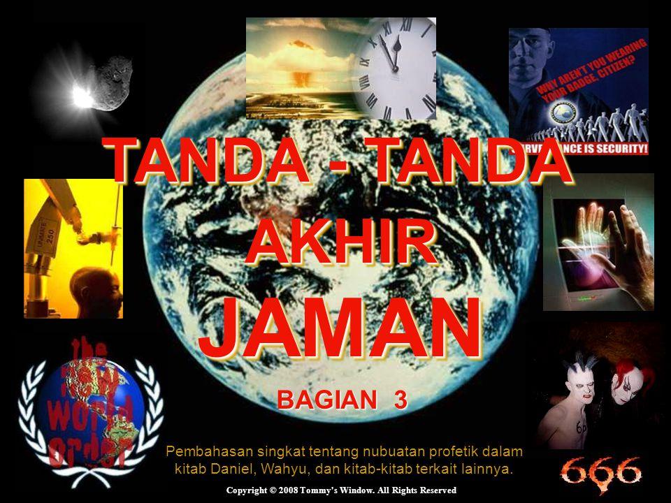 TANDA - TANDA AKHIR JAMAN