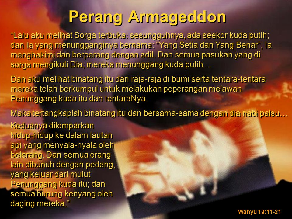 Perang Armageddon