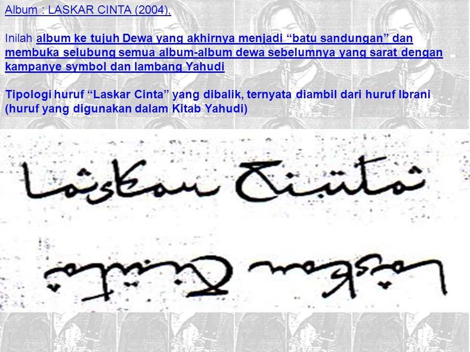 Album : LASKAR CINTA (2004),