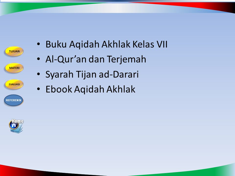 Buku Aqidah Akhlak Kelas VII Al-Qur'an dan Terjemah