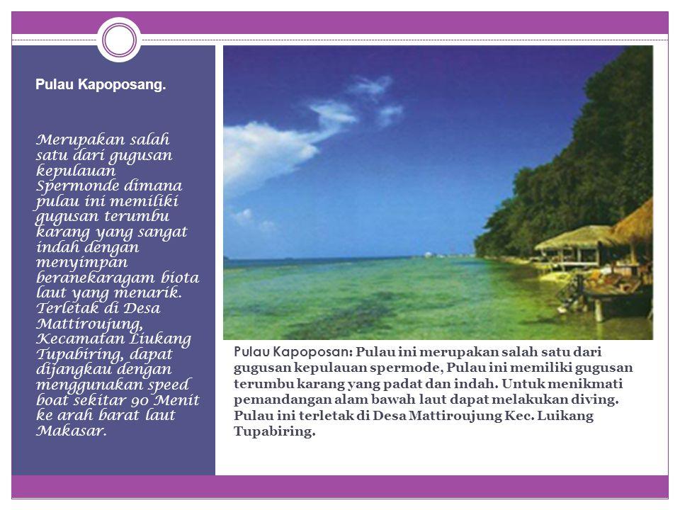 Pulau Kapoposang.