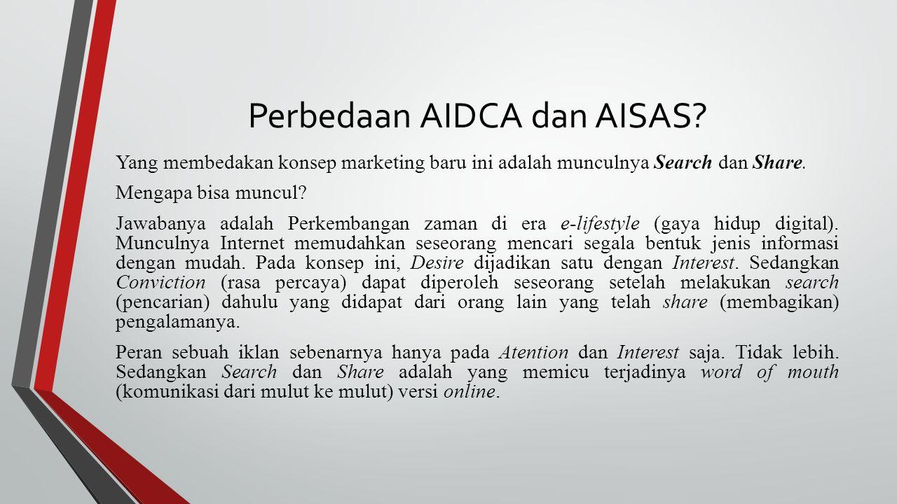 Perbedaan AIDCA dan AISAS