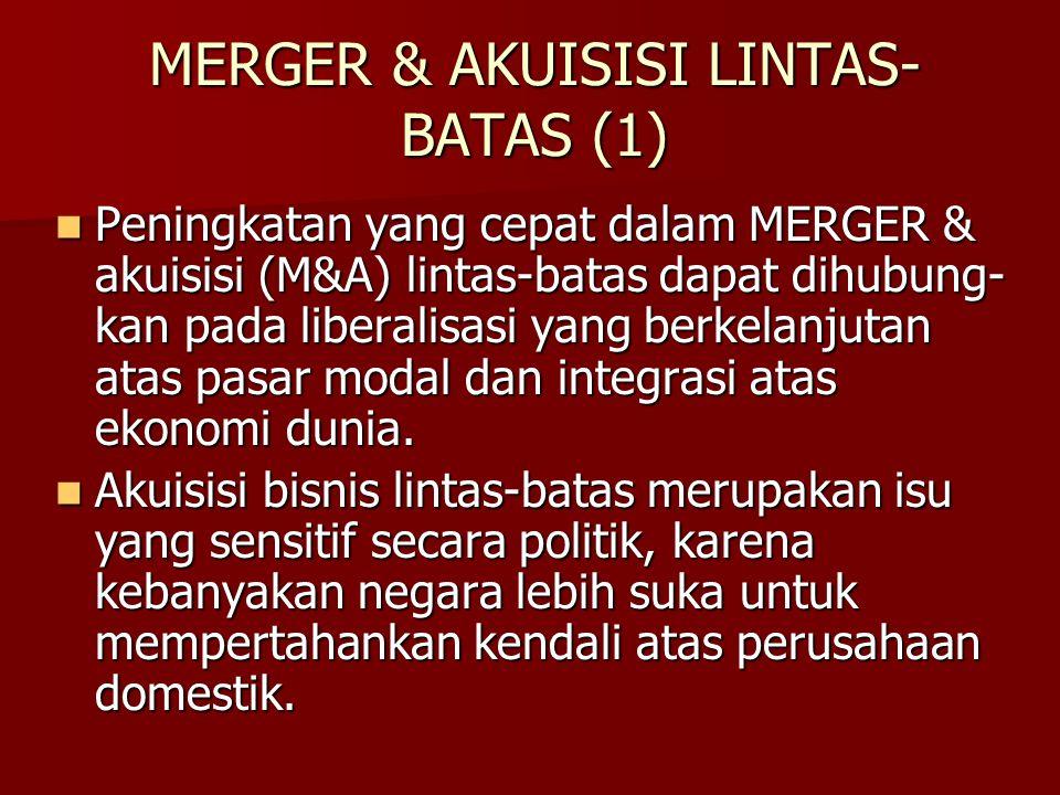 MERGER & AKUISISI LINTAS-BATAS (1)