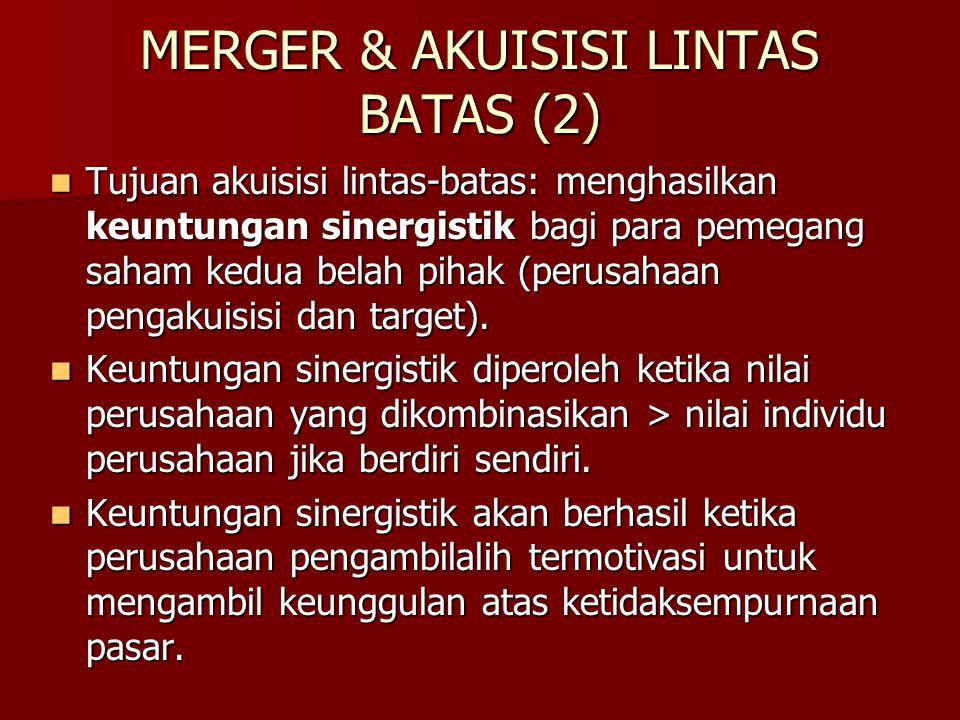 MERGER & AKUISISI LINTAS BATAS (2)