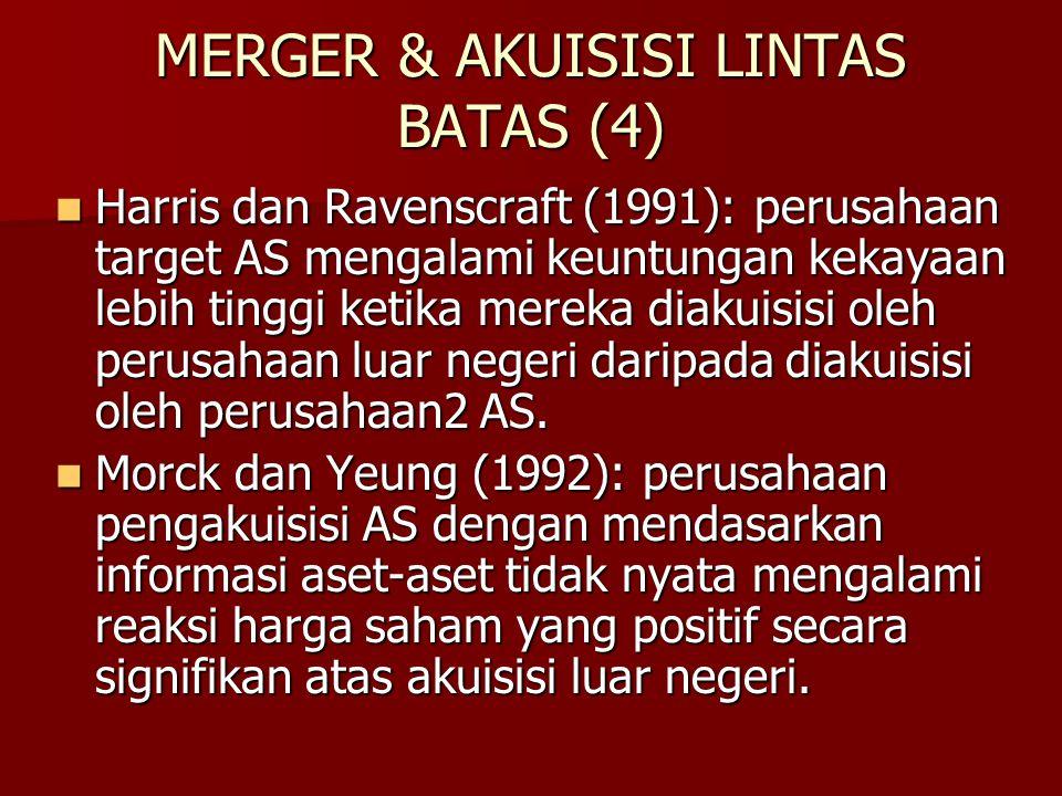 MERGER & AKUISISI LINTAS BATAS (4)