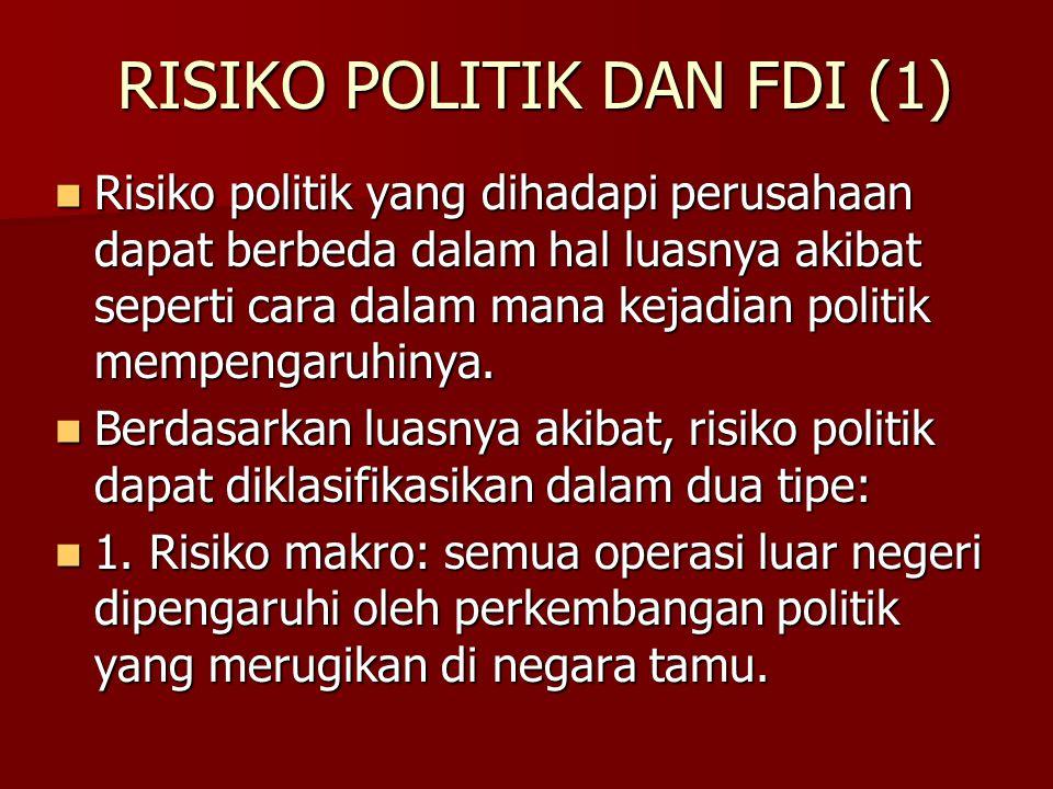 RISIKO POLITIK DAN FDI (1)