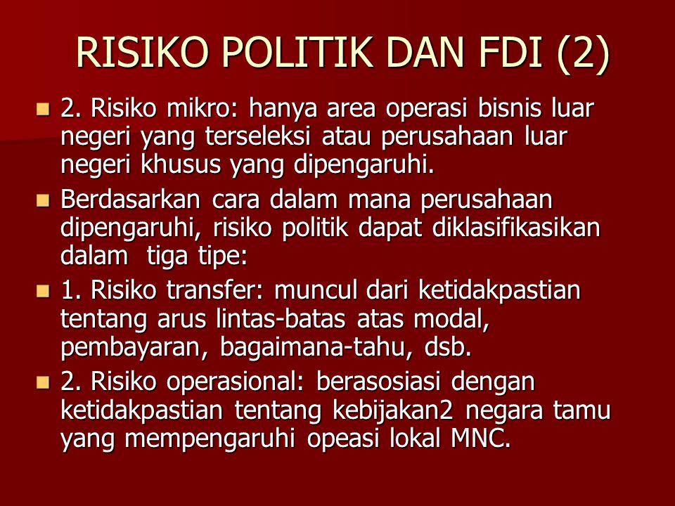 RISIKO POLITIK DAN FDI (2)