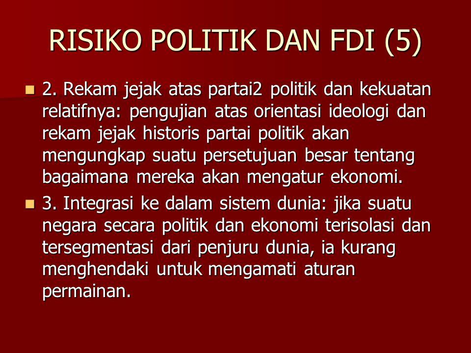 RISIKO POLITIK DAN FDI (5)