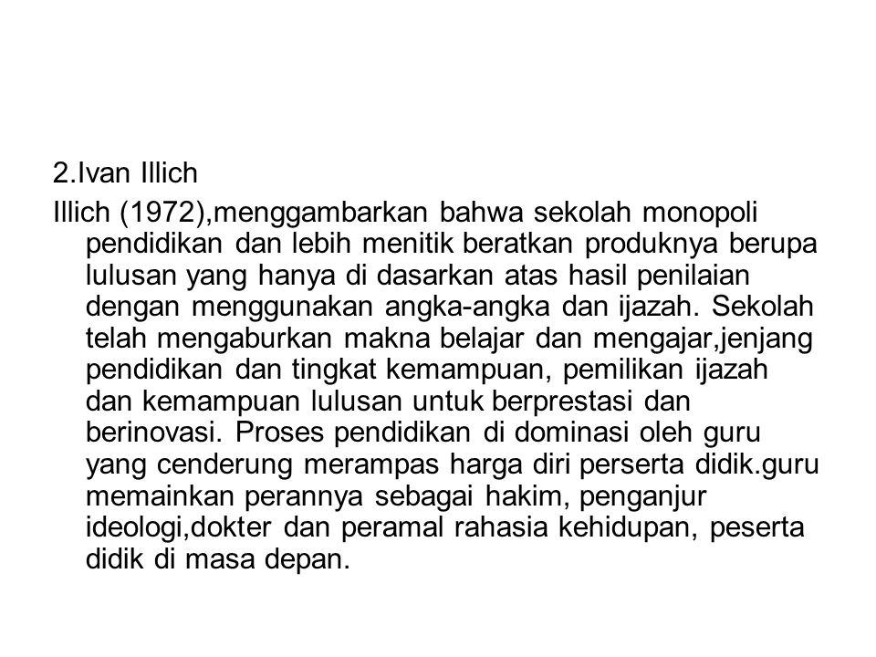 2.Ivan Illich