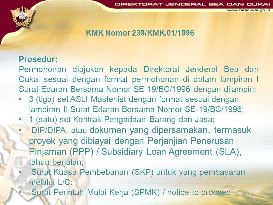 1 (satu) set Kontrak Pengadaan Barang dan Jasa;