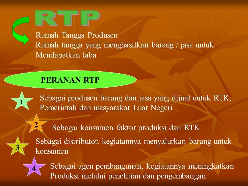 RTP Rumah Tangga Produsen