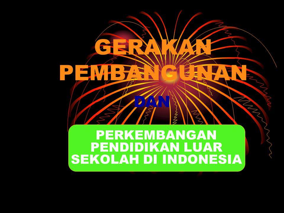 PERKEMBANGAN PENDIDIKAN LUAR SEKOLAH DI INDONESIA