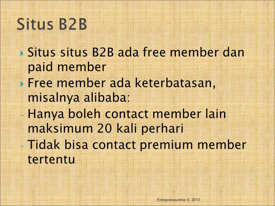 Situs B2B Situs situs B2B ada free member dan paid member