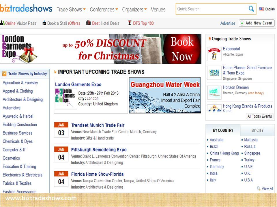 www.biztradeshows.com