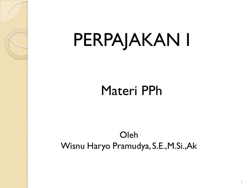 Wisnu Haryo Pramudya, S.E.,M.Si.,Ak