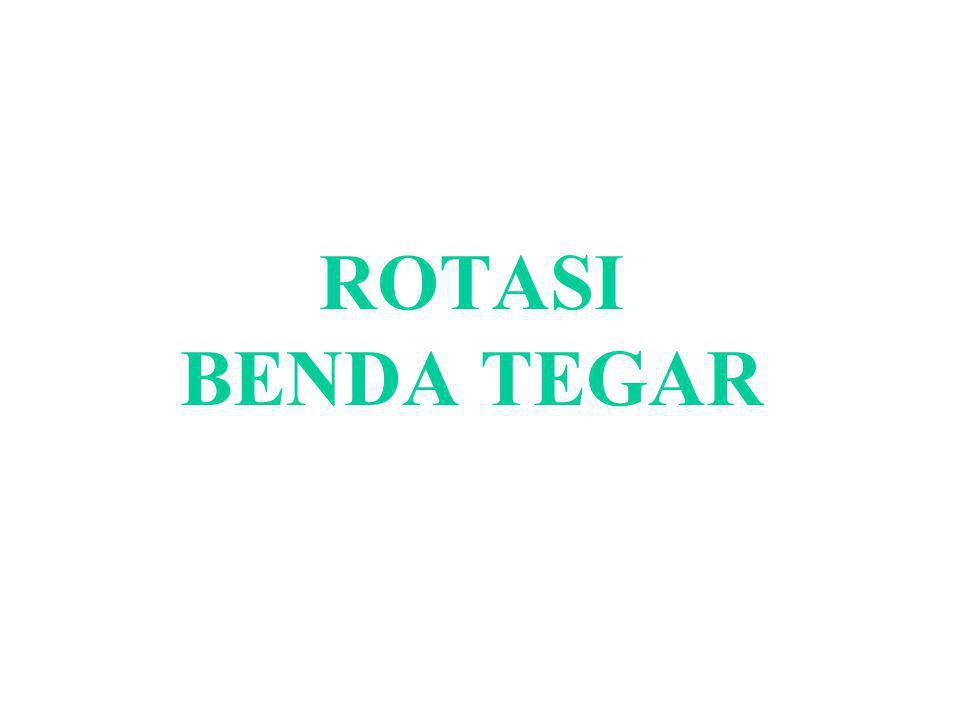 ROTASI BENDA TEGAR