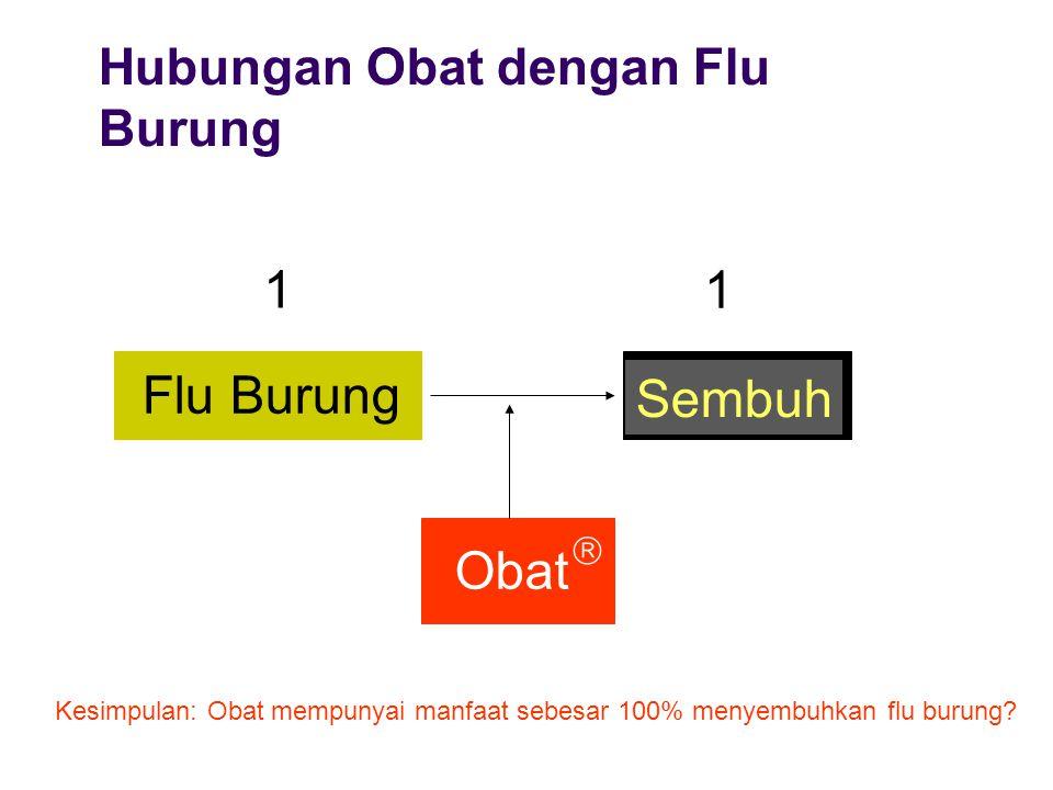 1 1 Flu Burung Sembuh Obat Hubungan Obat dengan Flu Burung 