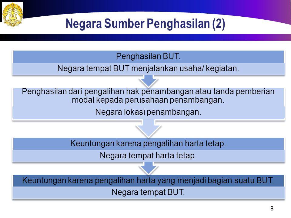 Negara Sumber Penghasilan (2)