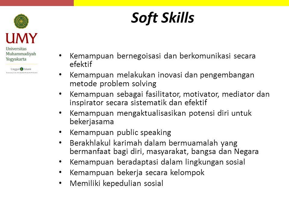 Soft Skills Kemampuan bernegoisasi dan berkomunikasi secara efektif