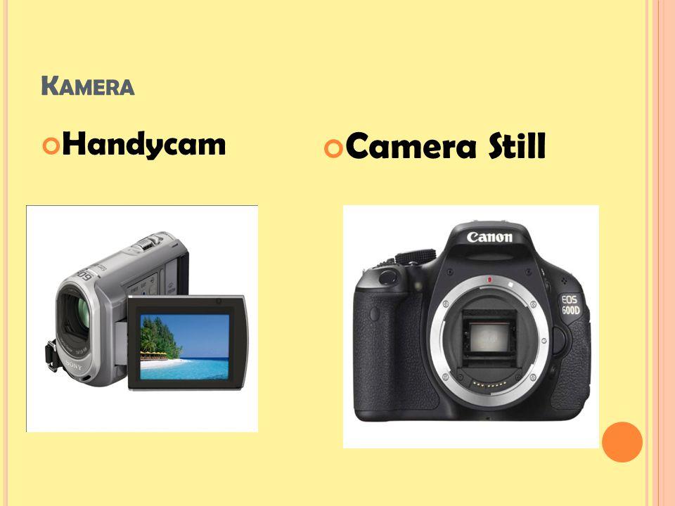 Kamera Handycam Camera Still
