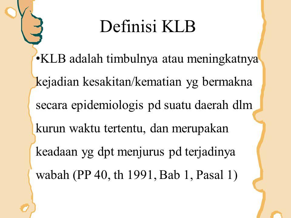 Definisi KLB