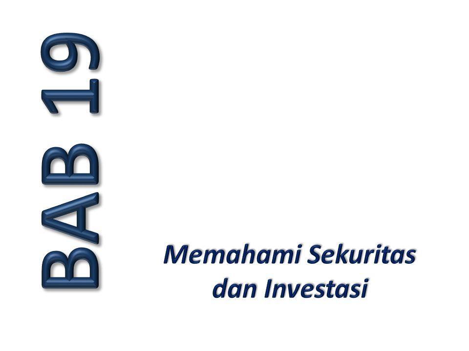 Memahami Sekuritas dan Investasi