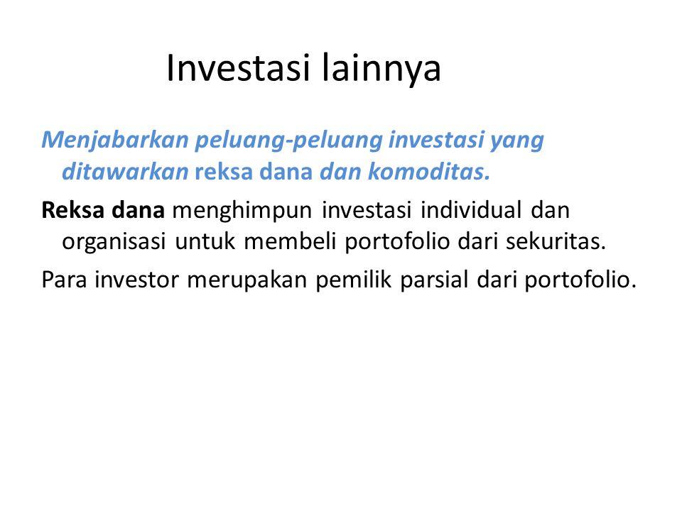 Investasi lainnya