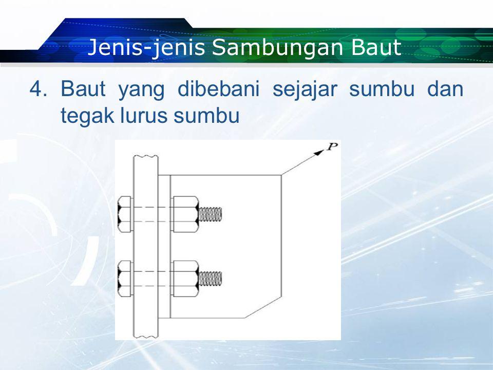Jenis-jenis Sambungan Baut