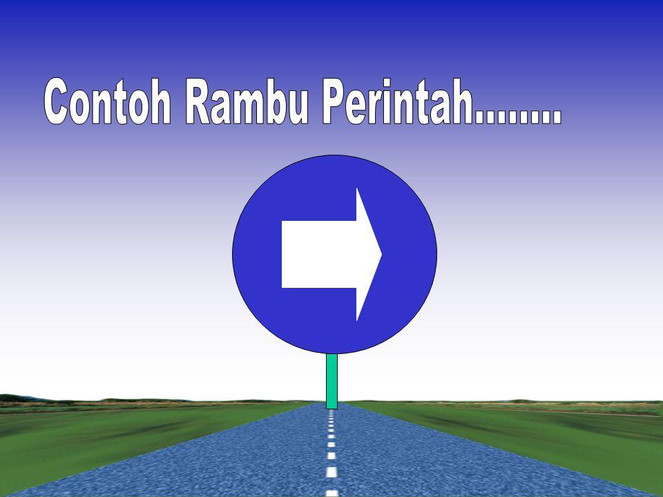 Contoh Rambu Perintah........