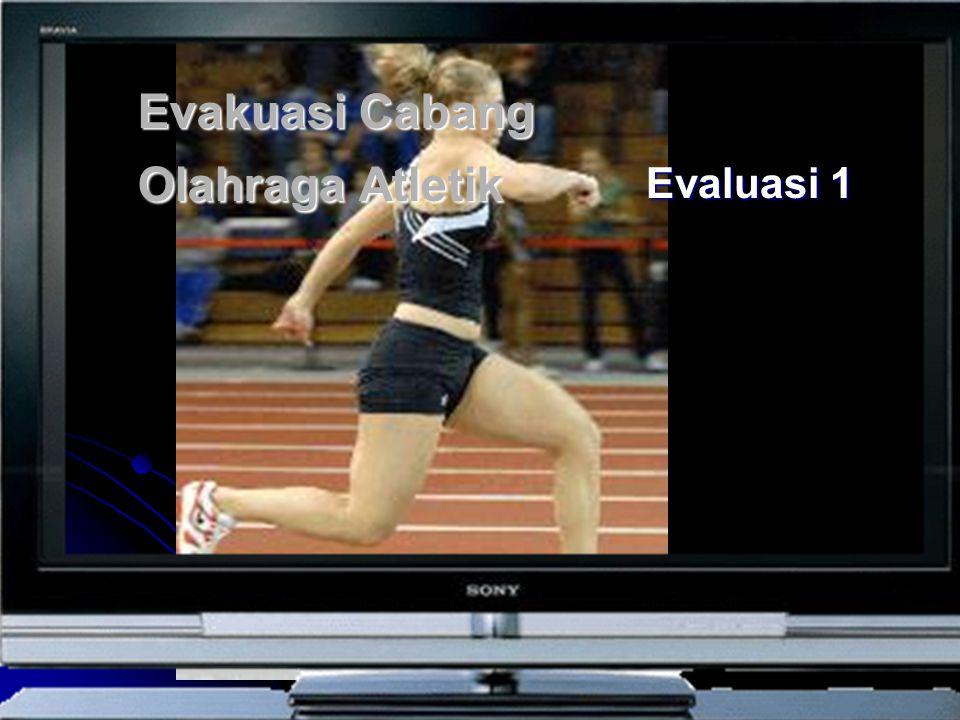 Evakuasi Cabang Olahraga Atletik
