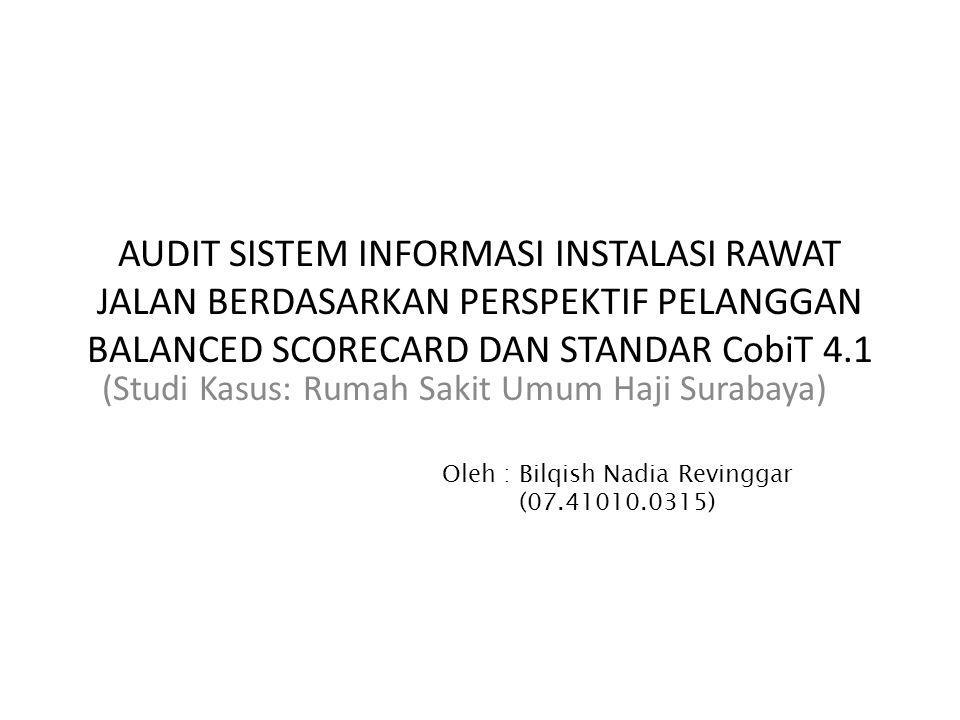 (Studi Kasus: Rumah Sakit Umum Haji Surabaya)