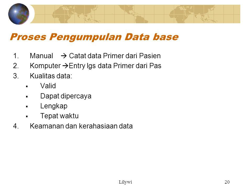 Proses Pengumpulan Data base