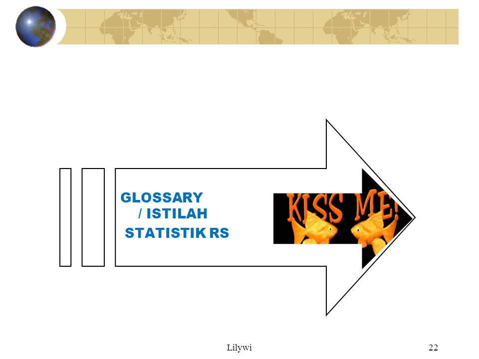 GLOSSARY / ISTILAH STATISTIK RS Lilywi Lily W