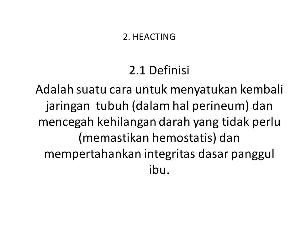 2. HEACTING 2.1 Definisi.