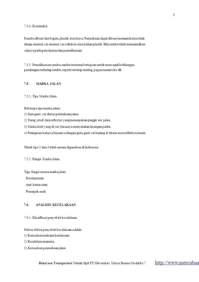 3 http://www.mercubuana.ac.id 7.4.4. Konstruksi.