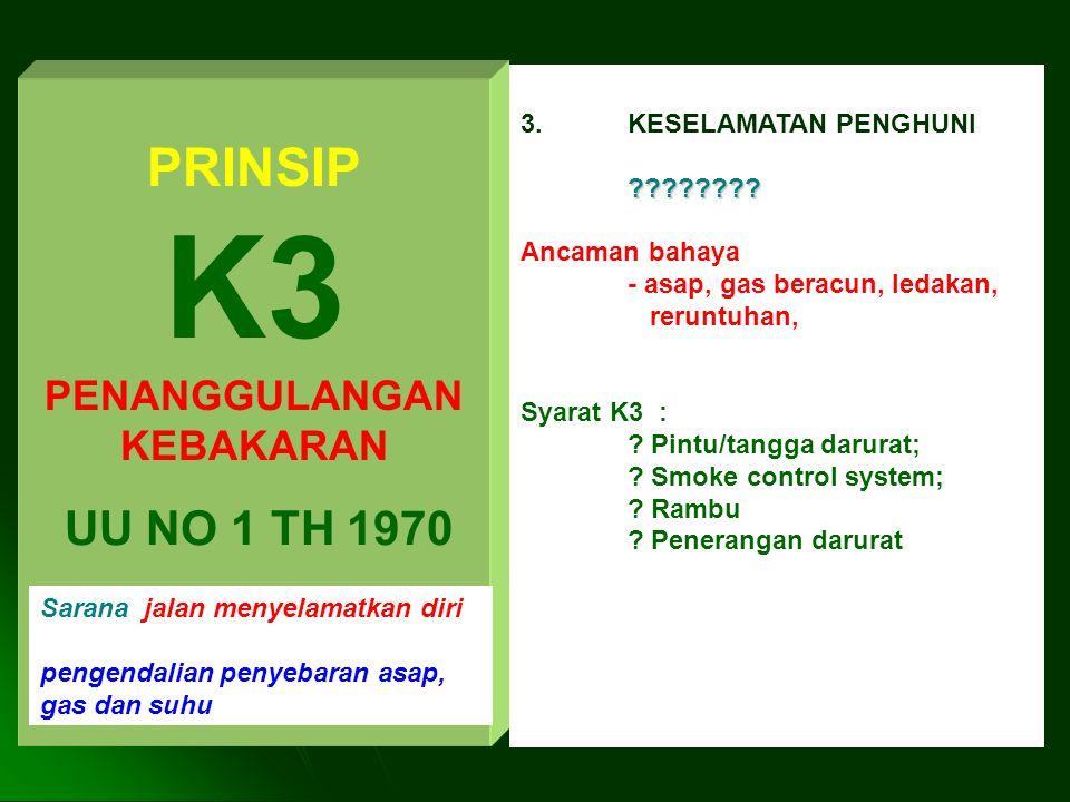 K3 PENANGGULANGAN KEBAKARAN