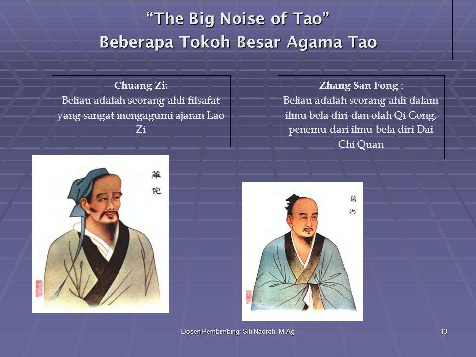 The Big Noise of Tao Beberapa Tokoh Besar Agama Tao