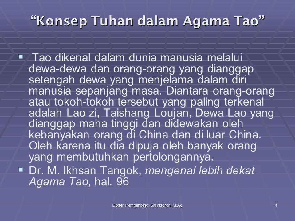 Konsep Tuhan dalam Agama Tao