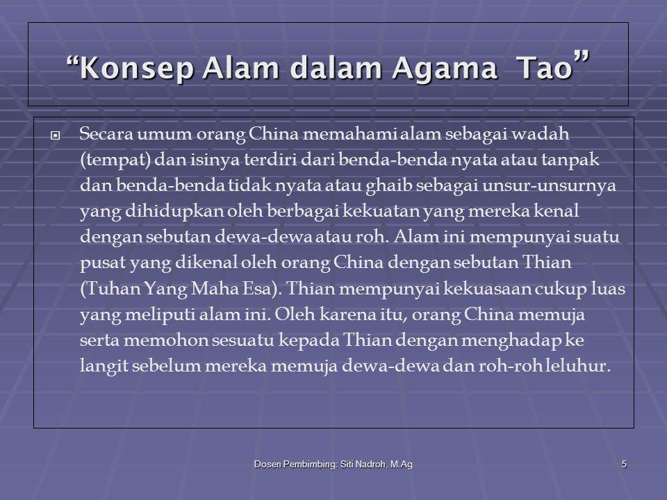 Konsep Alam dalam Agama Tao