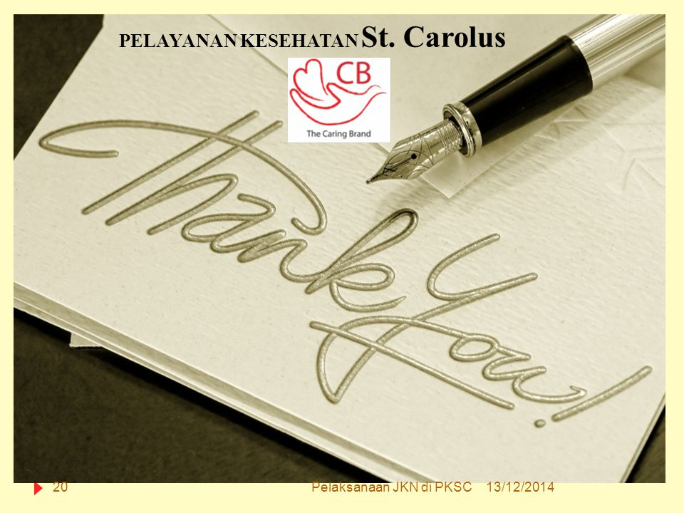 PELAYANAN KESEHATAN St. Carolus
