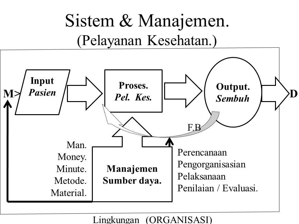 Sistem & Manajemen. (Pelayanan Kesehatan.)