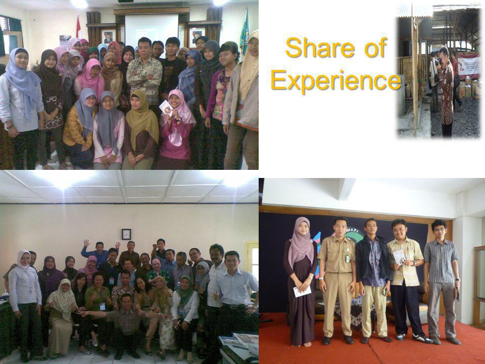 Share of Experience