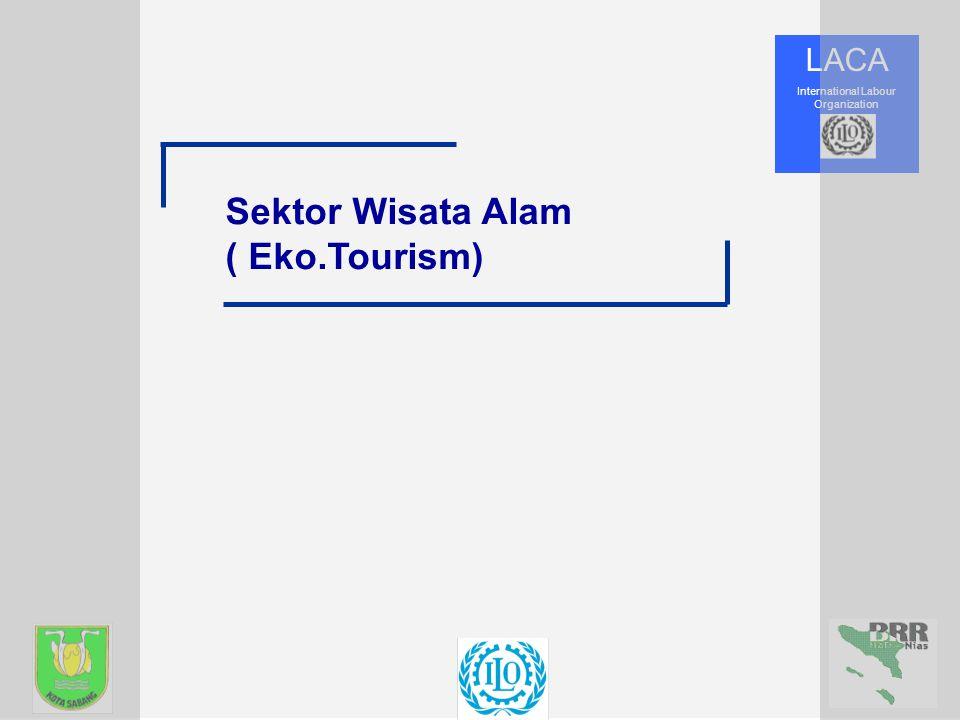 Sektor Wisata Alam ( Eko.Tourism)
