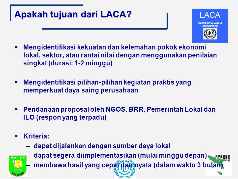 Apakah tujuan dari LACA